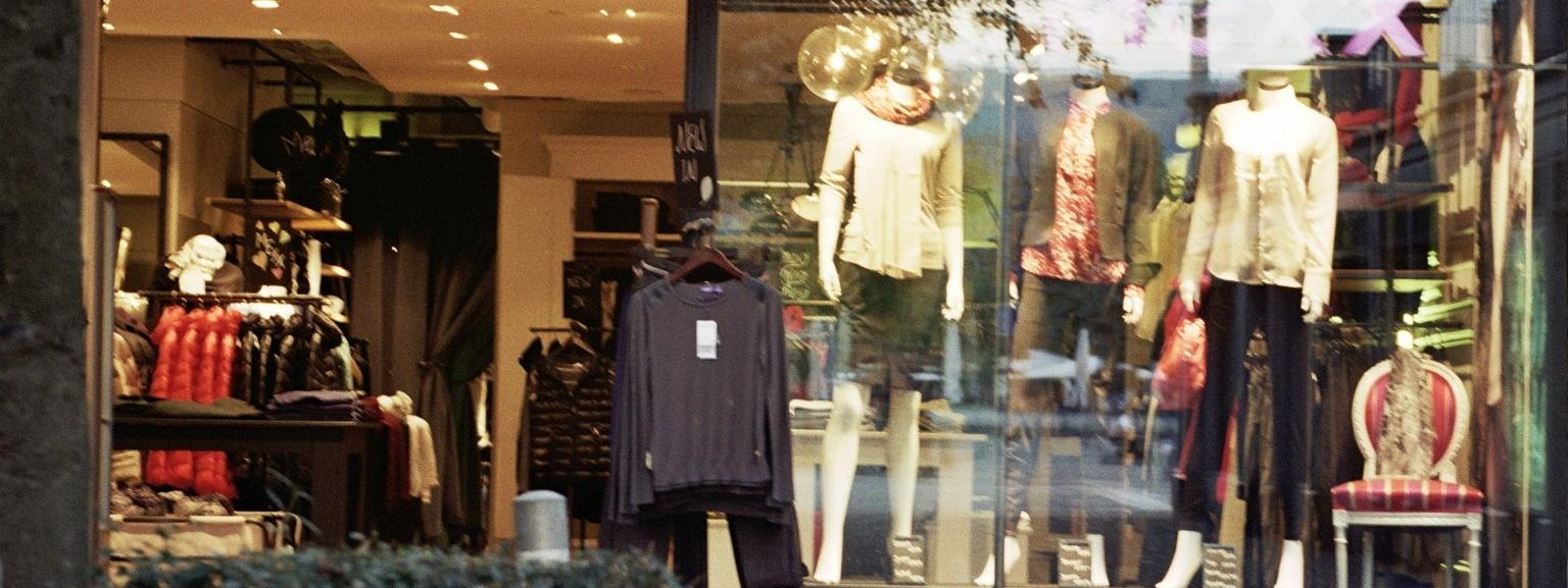 Mexx Fashion Shop Front Window