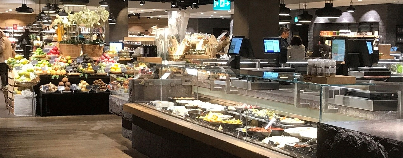 Food Hall of Globus Department Store