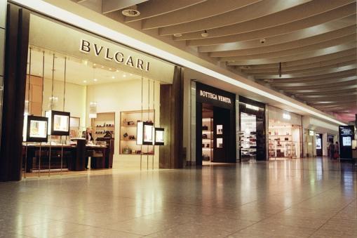 Shopping Centre Duty Free London Heathrow Bulgari