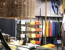 Menswear Globus Visual Merchandising, Zurich