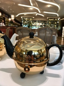 TWG Tea Salon in Leicester Sq., Pot on the Table
